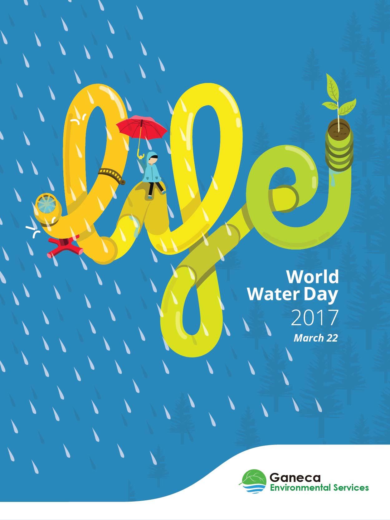 Poster World Water Day 2017 Ganeca Environmental Services